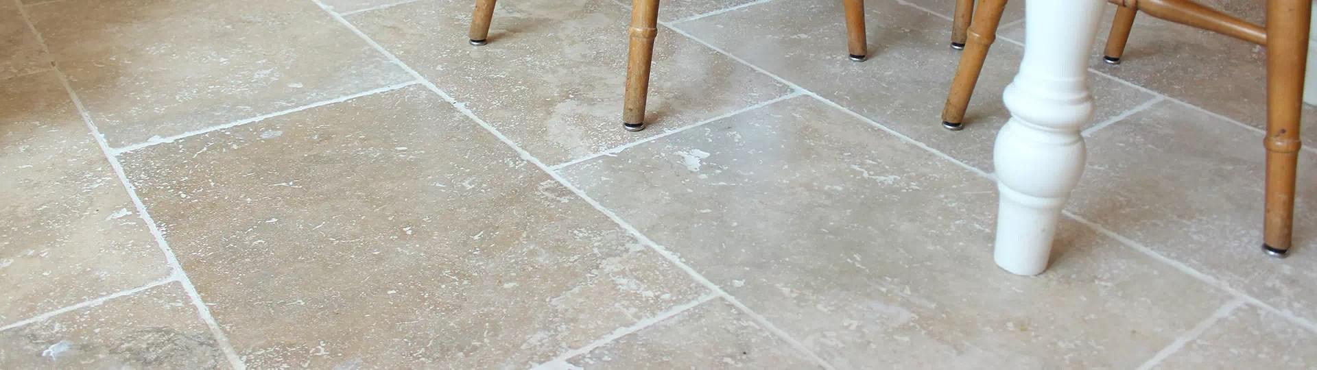 how to clean travertine floors simple