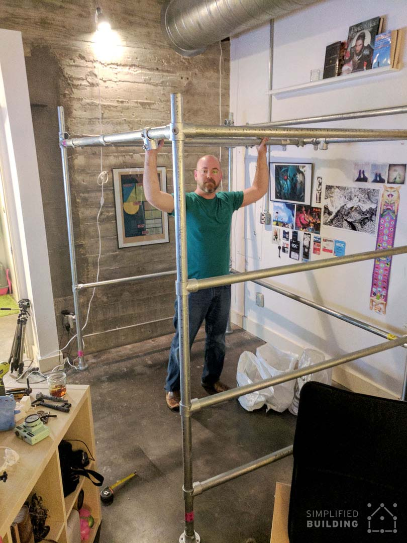 Diy Full Size Loft Bed For Adults With Plans To Build
