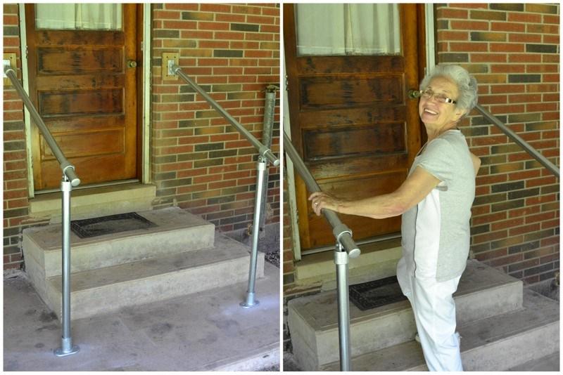 5 Diy Metal Stair Railing Examples | Diy Handrails For Exterior Stairs