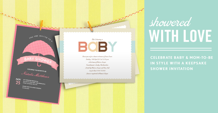 Photo Baby Shower Invitations Simply To Impress