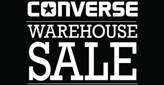 Converse warehouse sale Feat 22 Nov 2016