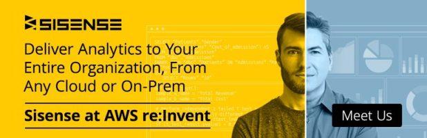 AWS reinvent 2019 CTA banner