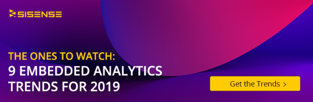 Embedded Analytics 2019 Trends