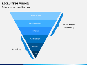 Recruiting Funnel PowerPoint Template | SketchBubble