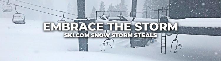 Snow storm deals