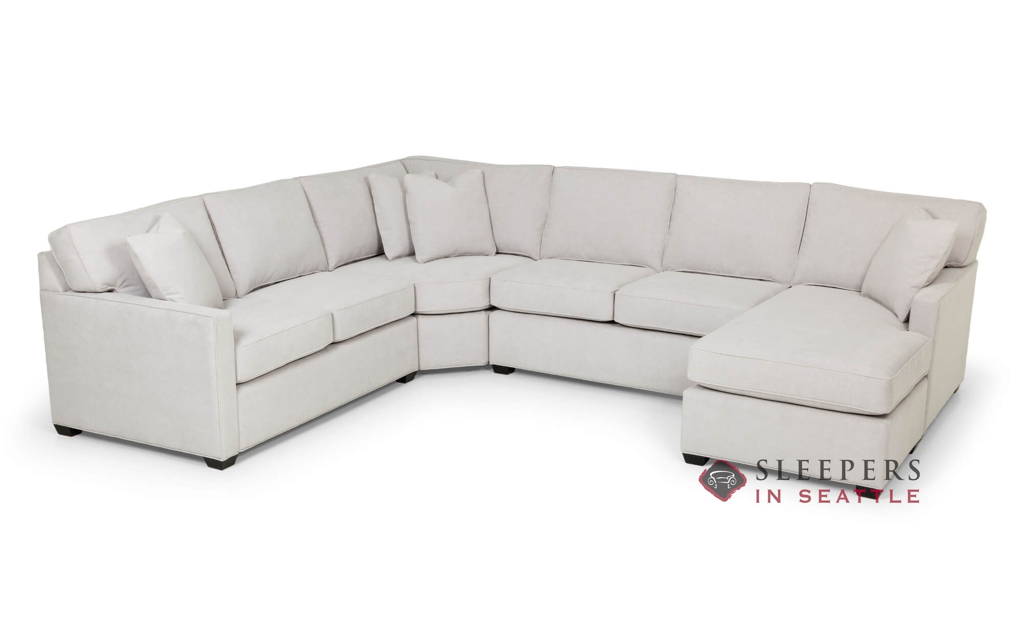 The Stanton 387 U Shape Sectional Queen Sleeper Sofa