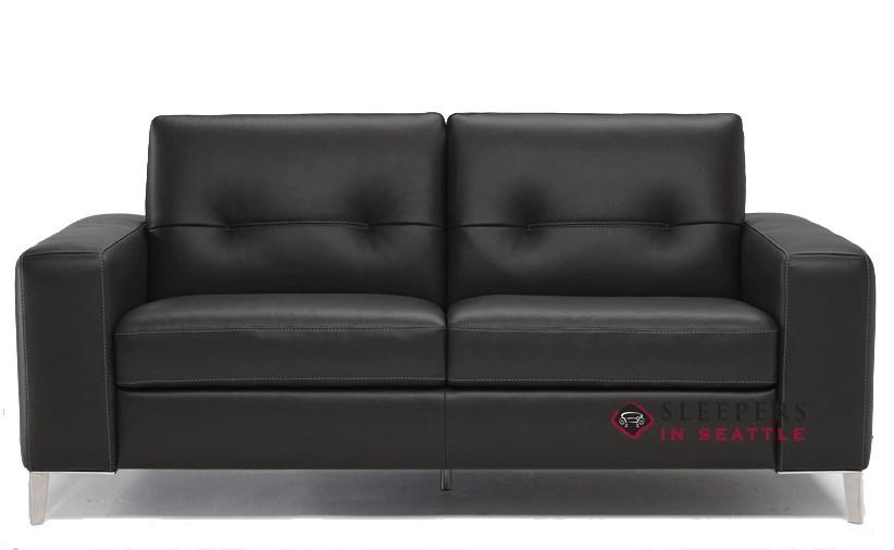 quick ship po b883 full leather sofa by natuzzi fast shipping po b883 full sofa bed sleepersinseattle com