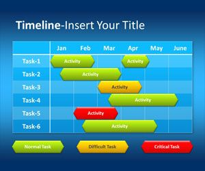 Free Time table PowerPoint Templates | Free PPT