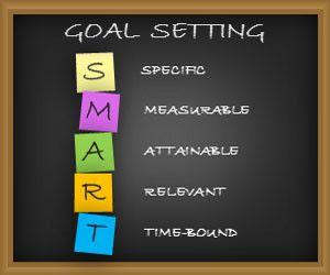 Goal Setting PowerPoint Template with Sticky Notes