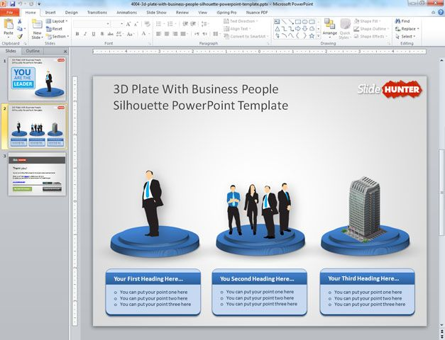 Unique Ppt Templates. the business canvas is crucial to build and ...