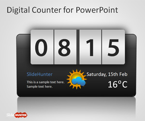 Free Counter PowerPoint Template Free PowerPoint Templates