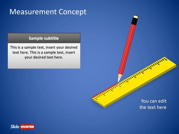 Free Measurement Concept PowerPoint Template Free PowerPoint Templates