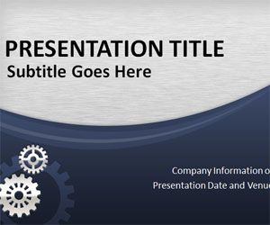 Free Business Process PowerPoint Template