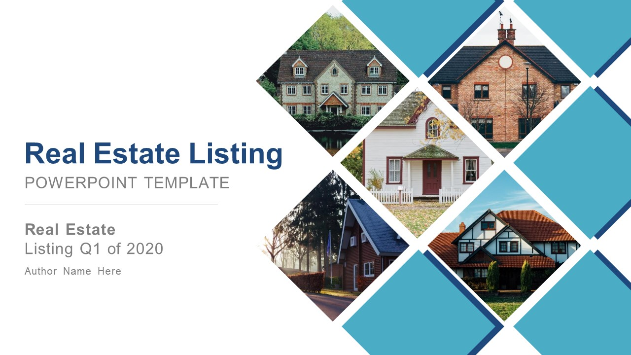 Real Estate Listing Powerpoint Template