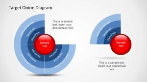 Target Onion Diagram for PowerPoint  SlideModel
