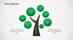Tree Diagram Illustration for PowerPoint  SlideModel