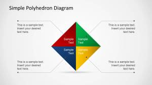 Simple Polyhedron Diagram for PowerPoint  SlideModel