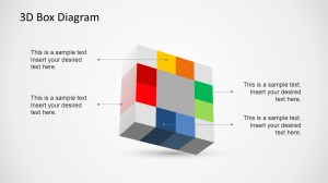 Creative 3D Box Diagram Template for PowerPoint  SlideModel