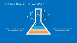 Test Tube Diagram Template for PowerPoint  SlideModel