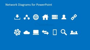 Simple Network PowerPoint Icons & Clipart  SlideModel