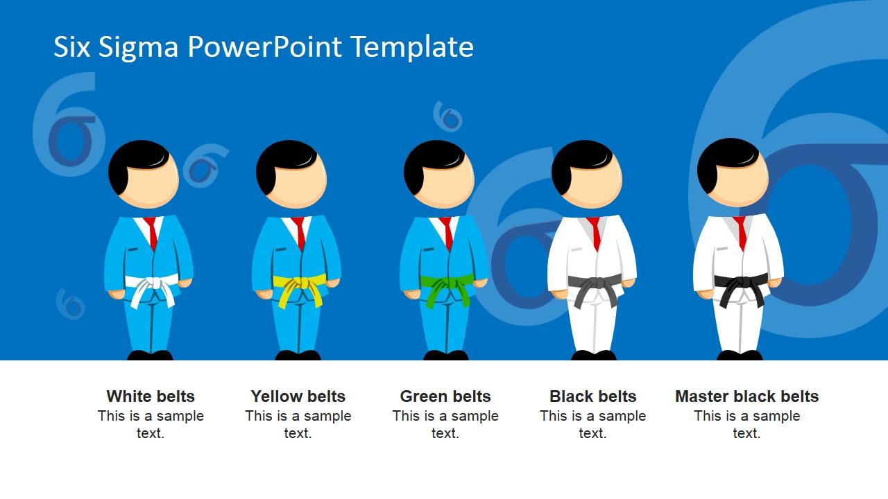Six Sigma Roles Powerpoint Presentation Slidemodel