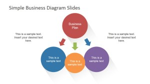 Simple Business Diagrams Slides for PowerPoint  SlideModel