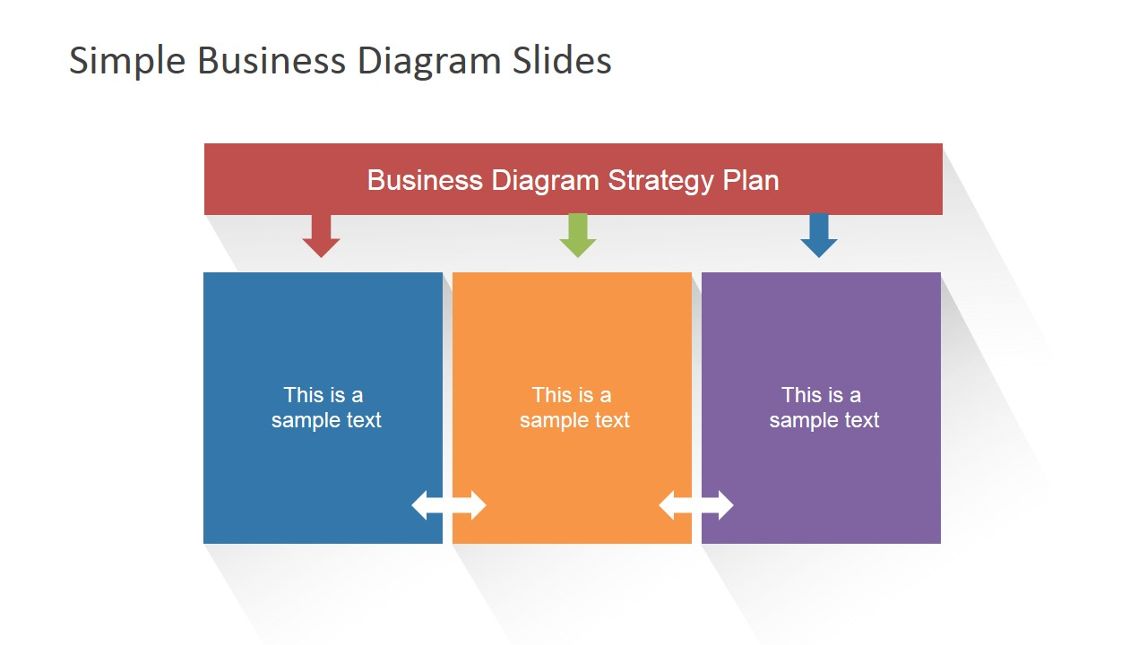 Simple Business Layout For Powerpoint Slidemodel