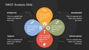 Petals SWOT Analysis PowerPoint Template  SlideModel