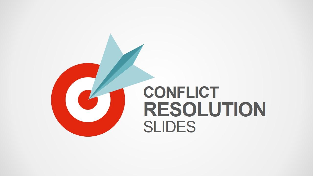 Conflict Resolution Powerpoint Template Slidemodel