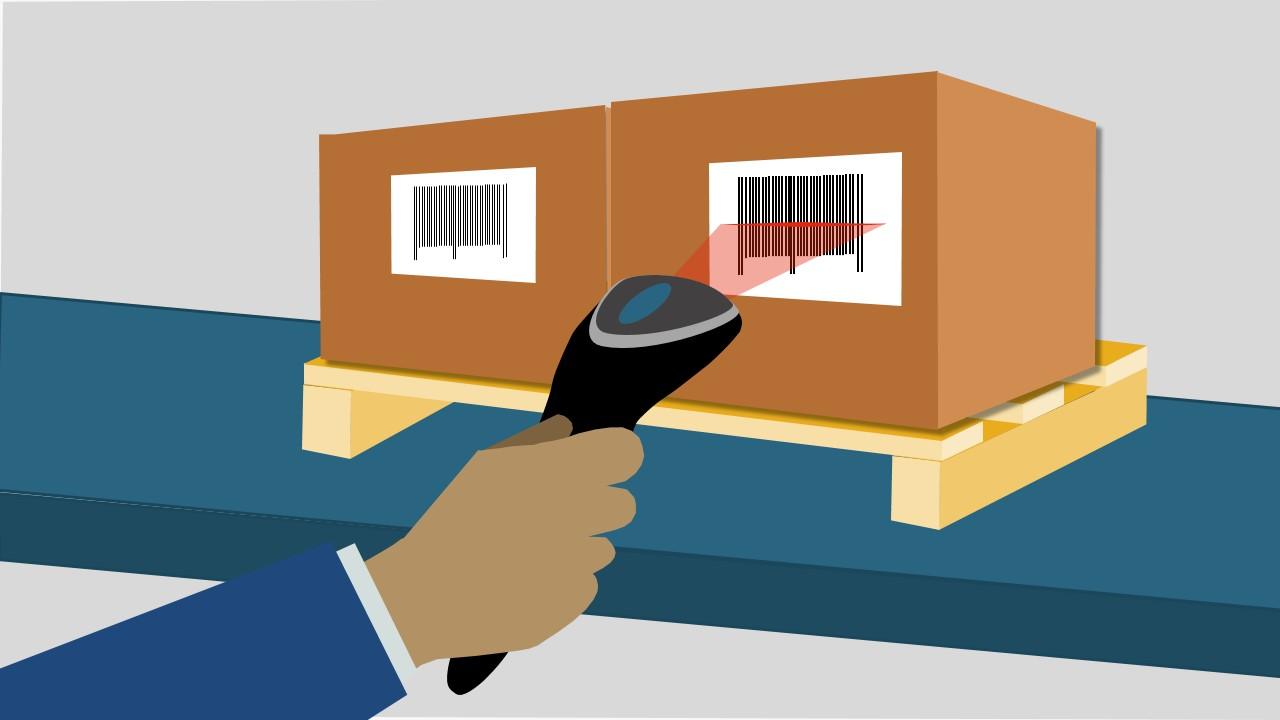 3d Logistics Warehouse Powerpoint Shapes Slidemodel