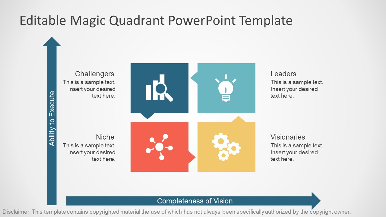 Gartner Templates Free Magic Quadrant Template For