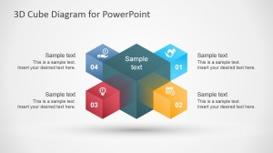 3D Cube Diagram Template for PowerPoint  SlideModel