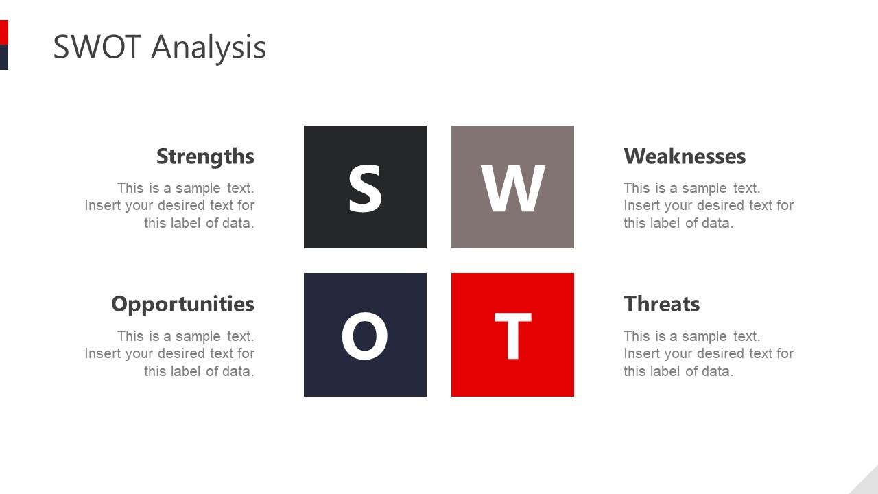 SWOT Analysis PPT Hotel Business SlideModel
