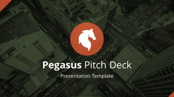 PowerPoint Templates Pegasus Pitch Deck PowerPoint Template