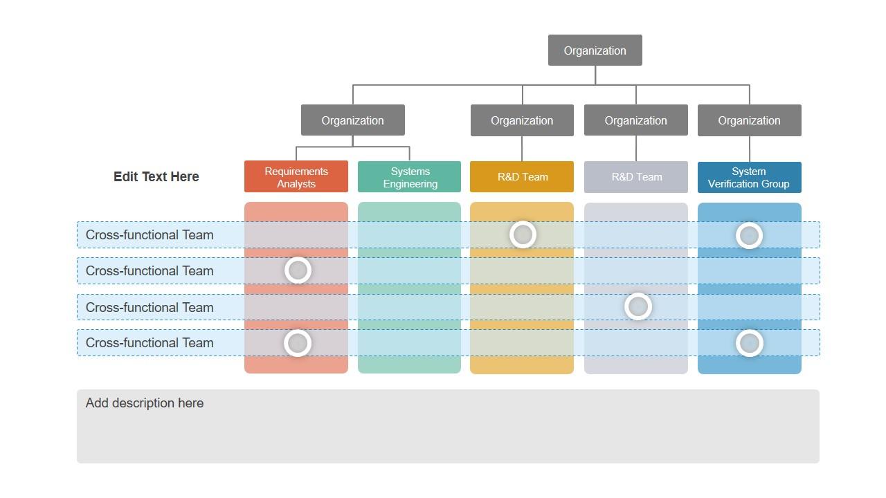 Powerpoint Organizational Hierarchy Structure Slidemodel