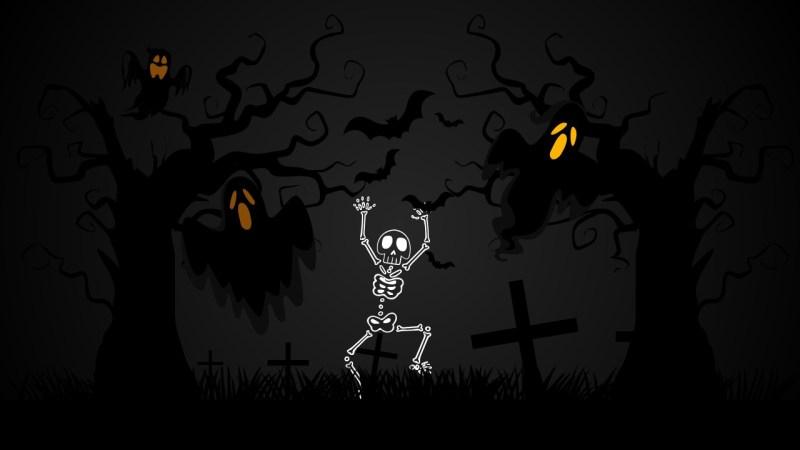 Animated Halloween Powerpoint Template Cartoonsite