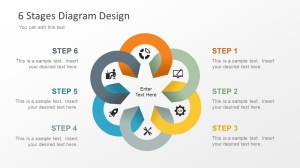 Free Editable 6 Stage Diagram for PowerPoint  SlideModel