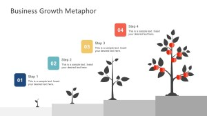 Free Business Growth Metaphor Template for PowerPoint  SlideModel