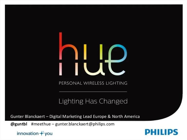 how philips brings wireless lighting to