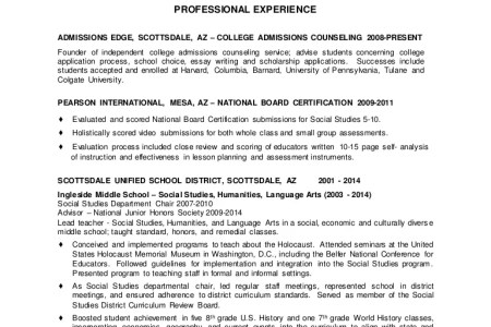 Another Word For Volunteer On Resume Free Professional Resume