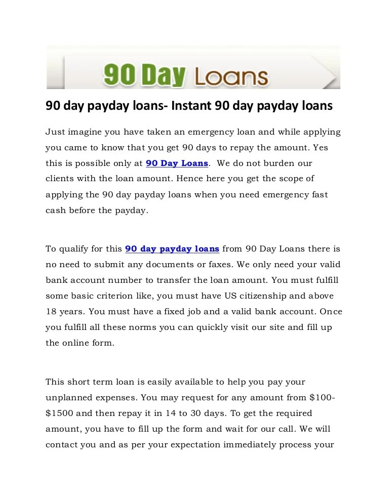 pay day advance fiscal loans working with unemployment positive aspects