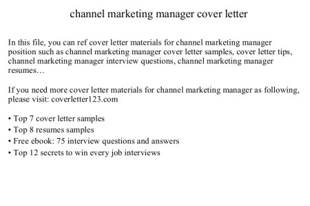 Free Professional Resume » sample cover letter for management ...