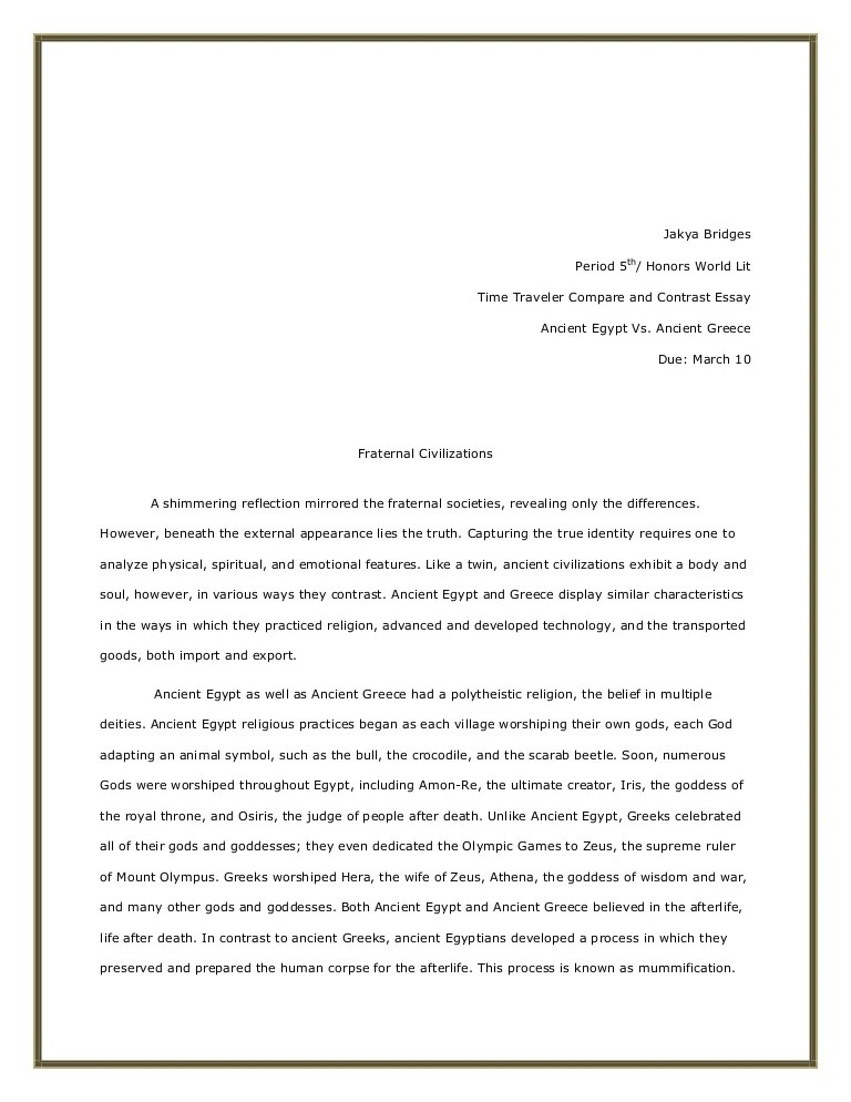 Healthy Food Essays Essay About Charity Grandparents In Tamil Compare And Contrast Essay High School And College also Sample Of English Essay Paragraph Format In An Essay Ending Compare And Contrast Essay On High School And College