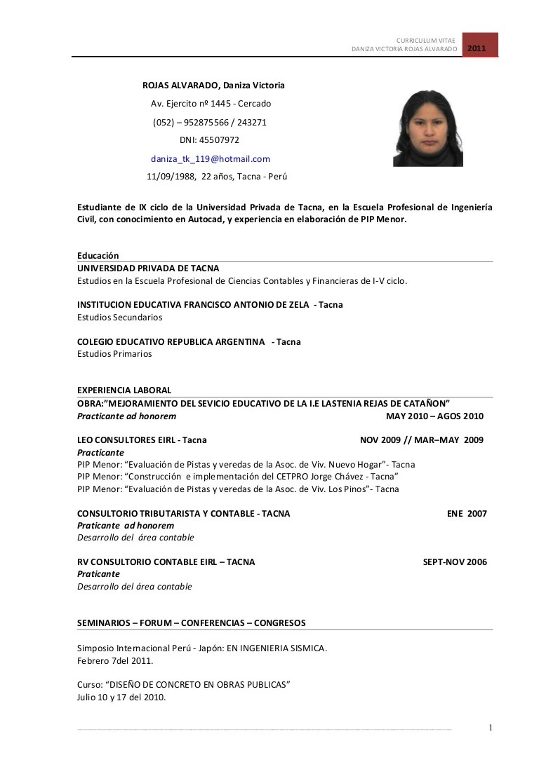 Excepcional Ejemplos De Curriculum Vitae De La Escuela Secundaria ...