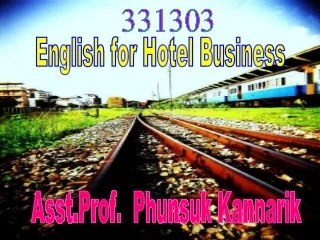 English for Hotel Business: Part 1 Hotel Types