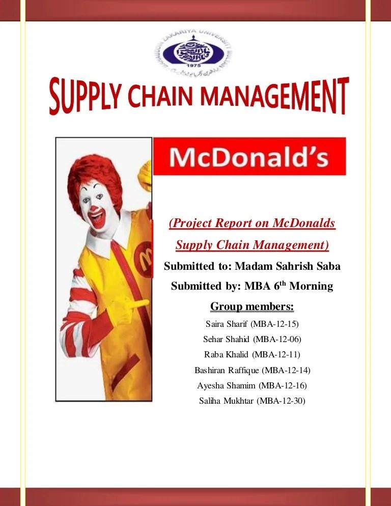 Examples Mcdonalds Advertising