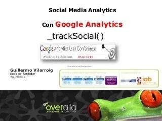 Social Media Analytics con Google Analytics
