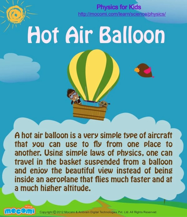 hot air balloon physic # 20