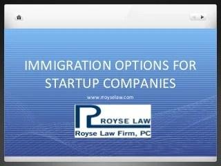 Immigration Basics For Startups