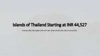 Visit Islands of Thailand with SOTC Holidays